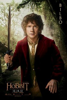 Pósters individuales de los personajes de The Hobbit: An Unexpected Journey #EvenproCines
