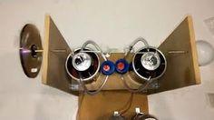 MOTOR STIRLING SOLAR ENERGY - YouTube