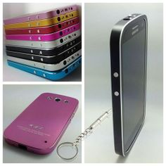 Ultra-thin Luxury Deluxe Aluminum Metal Case Cover Multiple color for Samsung Galaxy S3/S III/I9300