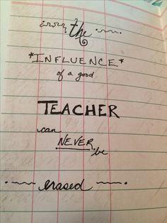 Teacher card diy