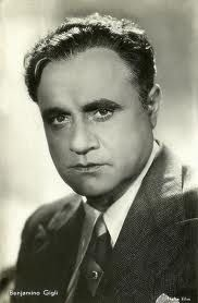 Beniamino Gigli - one of the most famous Italian opera singers