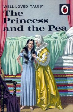The Princess And The Pea  Eric Winter, Ladybird 606D Series