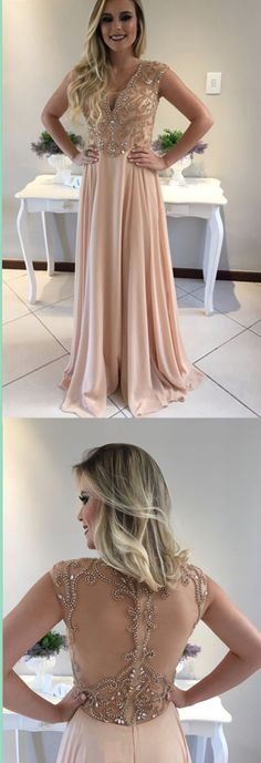 Charming Chiffon Prom Dress,Long Prom Dresses,Charming Prom Dresses,Evening Dress Prom Gowns, Formal Women Dress,prom dress