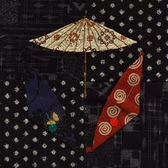 Japanese Quilt--Auditioning Parasols