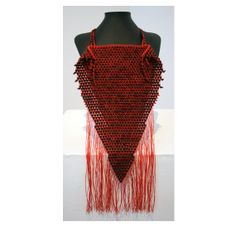Corazon  Stunning Contemporary Macrame Chest Piece by blackpacha