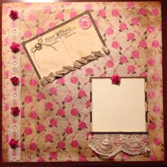 Cynthia McQueen Paper Queen Designs, scrapbook layout www.aCrowningCreation.com