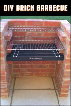 This Easy to Build Brick BBQ is a Great Project For The DIYer Who Doubles as a Serious Chef!
