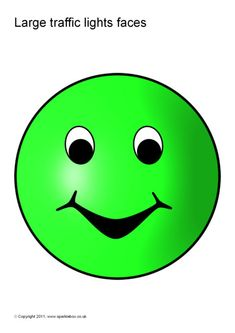Fun traffic light faces coloured red, amber and green. Behavior Chart Preschool, Behaviour Chart, Preschool Classroom, Red Light Green Light, Behavior Management System, Towel Animals, Classroom Organisation, School Readiness, Traffic Light