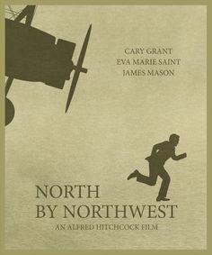 North by Northwest Movie Poster Print Home Decor Print Art