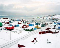 Aasiaat in Greenland
