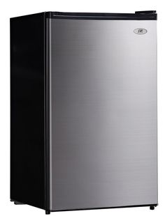 SPT RF-444SS Compact Refrigerator, 4.4 Cubic Feet, Stainless Steel, Energy Star #SPT