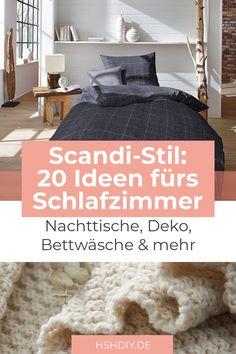 Der skandinavische Stil besticht durch helle Farben, minimalistische Gemütlichkeit und flauschige Textilien. Wir lieben den skandinavischen Stil! Du auch? Wir haben für dich 18 tolle Ideen gesammelt, die dich mit Möbelinspiration, Deko-Tipps, gemütlicher Bettwäsche und mehr versorgen. Lass dich von skandinavischen Formen und Farben inspirieren und gestalte dir dein Schlafzimmer im Scandi-Stil zum Verlieben. #Scandi #skandinavischwohnen #Schlafzimmer #Schlafzimmerdeko