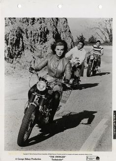 "Ann Margret! Riding a Triumph in ""The Swinger,"" ca. 1967. - Google Search"