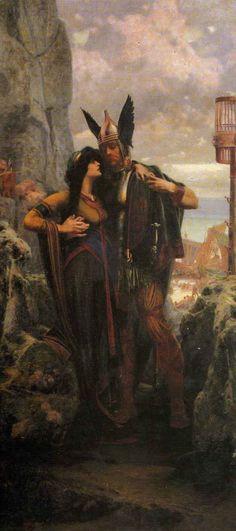 A Germanic warrior