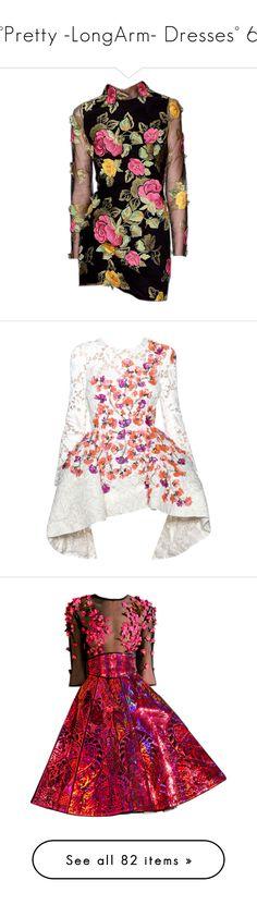 """°Pretty -LongArm- Dresses° 6"" by dicabria ❤ liked on Polyvore featuring dresses, gown, blumarine, blumarine dress, vestido, giambattista valli, giambattista valli dress, white dress, short dresses and gowns"