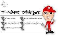 Tuunatut tulokset - pyöristäminen (TVT-harjoitus).