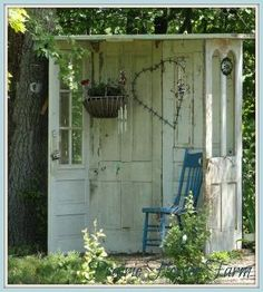 garden decor, doors, outdoor living, Mine will probably look like this but I prefer the other one Will have to wait and see how good I am at construction I think I can I think I can I think I can Heh