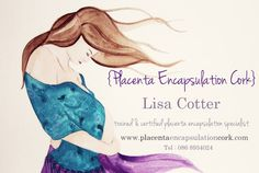Placenta encapsulation specialist business card from: http://kojiihelnwein.com & http://placentaencapsulationcork.com #placenta #encapsulation #doula #midwife #business Get more biz tips at: http://bloombirthpros.com http://growyourbirthbusiness.com