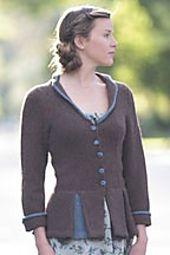 Ravelry: Peplum and Pleat Jacket pattern by Erica Patberg