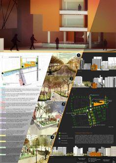 architecture portfolio examples for university pdf Concept Board Architecture, Architecture Presentation Board, Architecture Panel, Architecture Student, Architecture Portfolio, Architecture Design, Interior Design Presentation, Project Presentation, Presentation Layout