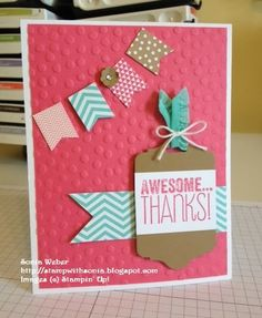 Stampin' Up! Banner Blast, Sale-A-Bration