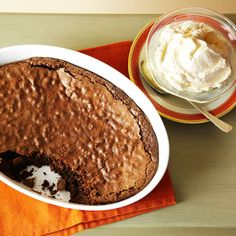 Baked Chocolate Pudding  1 cup butter = 226 g
