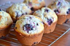 Paleo Blackberry Muffins