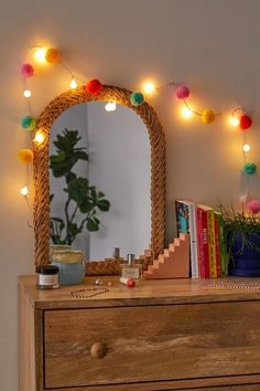 Pompom LED String Lights