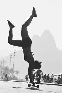 #skate #skating #skateboard #skateboarding #longboard #longboarding #girl