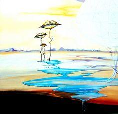 Изысканный сюрреализм художницы Оrа Тамir.   Оригинальное творчество талантливых и увлеченных людей