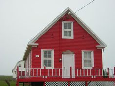 #house #red #architecture