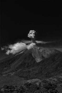 Volcán de fuego- Guatemala