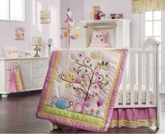 owel+themed+nursery | owl nursery ideas, owl baby room, owl bedding, baby girl, owl themed ...