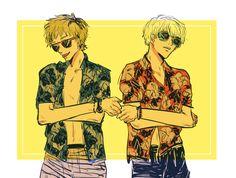Hide and Kaneki // TG