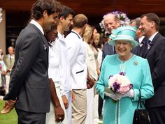 Does she have a raging crush on Roger Federer? Did she tell him a dirty joke? This is so cheeky I HAVE TO KNOOWWW!!