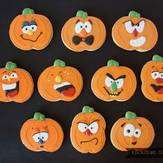 http://www.klickitatstreet.com/2012/09/silly-pumpkin-faces-with-royal-icing.html