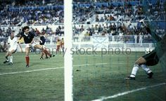 Scotland 5 New Zealand 2 in 1982 in Malaga. John Wark scores on 29 minutes to make it 2-0 in Group 6 at the World Cup Finals.