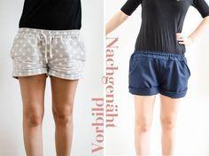 livera: kurze Hose inkl. Schnitt und Anleitung (Diy Clothes Shorts)
