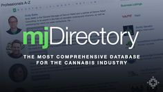 Medical Jane Launches Professional Database to Connect Fragmented Cannabis Industry ~~~ The most comprehensive database for the cannabis industry   http://www.medicaljane.com/directory/