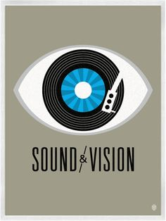 Sound & Vision. #djculture #musicart http://www.pinterest.com/TheHitman14/dj-culture-vinyl-fantasy/