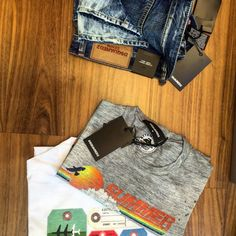 denim and t-shirts. Shop the brand Shirt Shop, T Shirt, Dsquared2, Denim, Pants, Shopping, Fashion, Moda, Tee Shirt