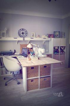 aménagement bureau+atelier couture