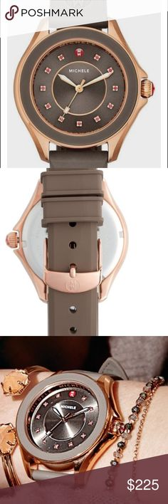 Michele jelly watch Beautiful cape topaz  Norstrom exclusive jelly watch.. New Michele Accessories Watches