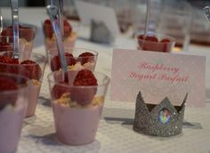 Raspberry Yogurt Parfait