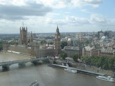 View from The London Eye!