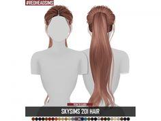 The Sims 4 SKYSIMS HAIR ADULT 201