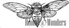 Cicala da colorare di Roomofwonders su Etsy