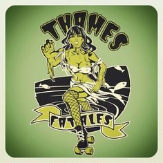 I'm on the Thames Fatales!!!!!!  I loooove this team!  Can't wait to take the track on January 26th in London, Ontario!!!!  Come see 3 Forest City Derby Girls teams take to the track!!! #londonontario #london #forestcityderbygirls #rollerderby #thamesfatales #swontarioevents