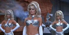 JWH- So the fembot is a direct ripoff of Mudd's Women in Star Trek.  A nice turn.