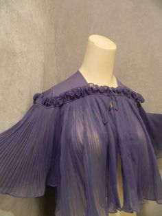 Elegant Sheer Lavender Woman's 1960's Short by MyKitschyCloset, $21.99
